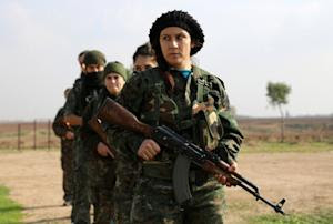 """Syriac Christian members of the """"Female Protection…"""