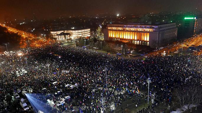 Image result for romania protest