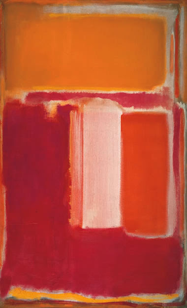 MARK ROTHKO S/T (amarillo, guinda, anaranjado), 1947