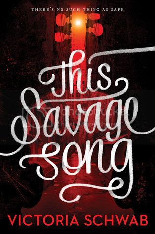 This Savage Song by V.E. Schwab US Cover