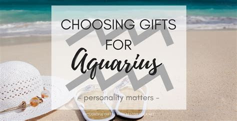 Best Gift Idea Gifts for Aquarius  What To Know About