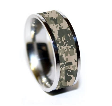 army Tungsten ring   Army Camo Ring ? Military Camo
