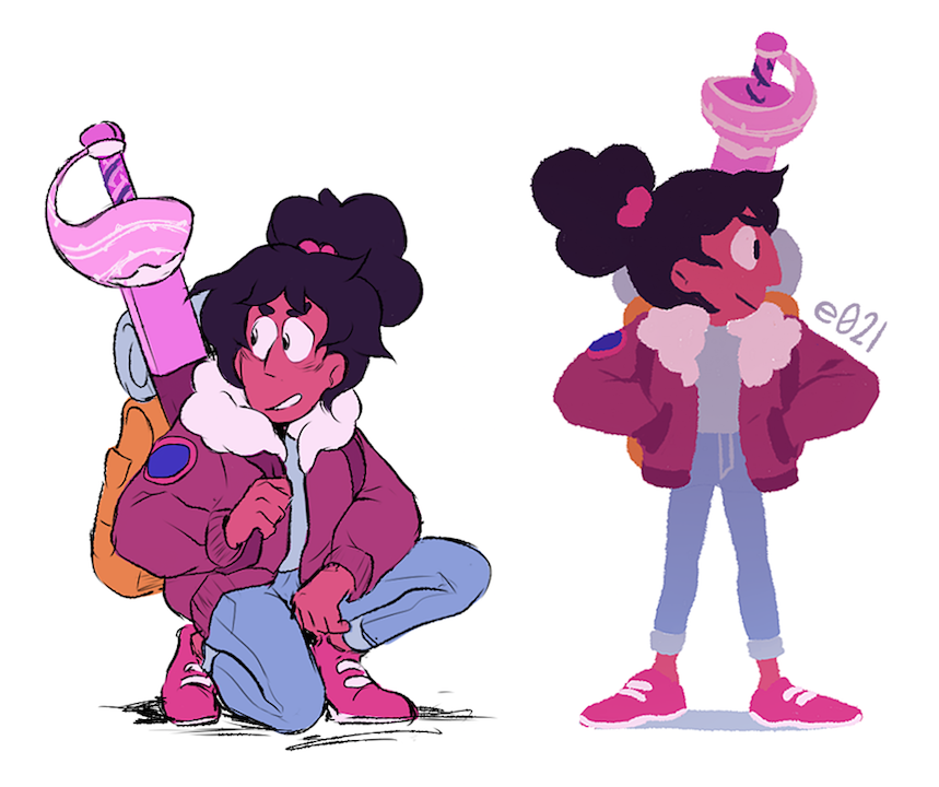 connie w/ bangs is too cute