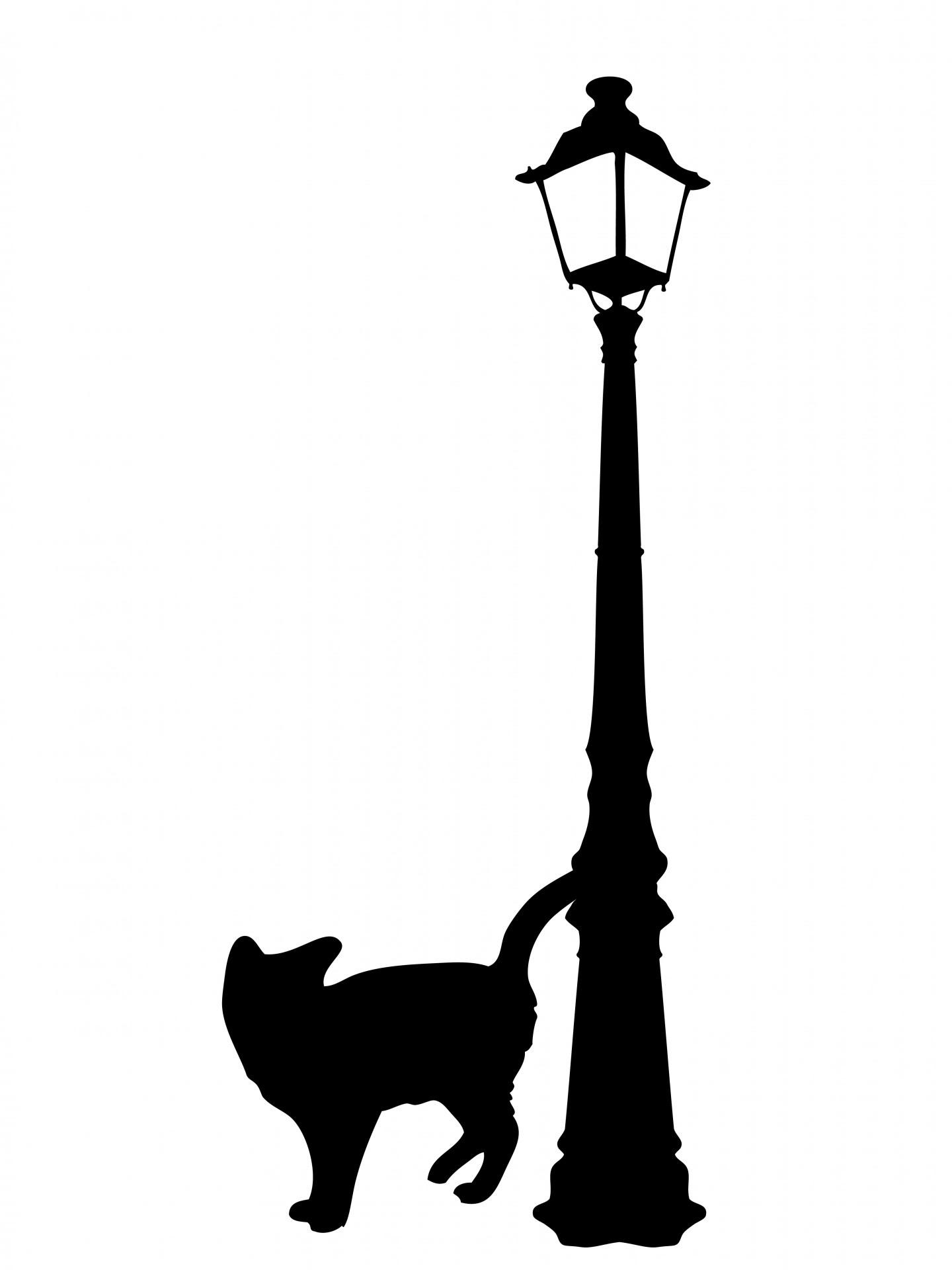 Download Black Cat Silhouette Clipart Free Stock Photo - Public ...