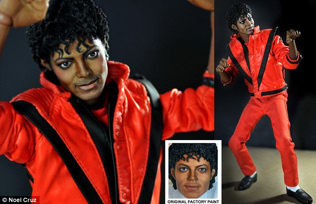 Michael Jackson: The original Thriller doll was a look-a-like horror