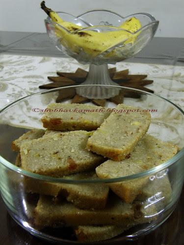 Semolina Banana Cake 3