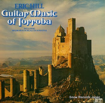 HILL, ERIC guitar music of torroba