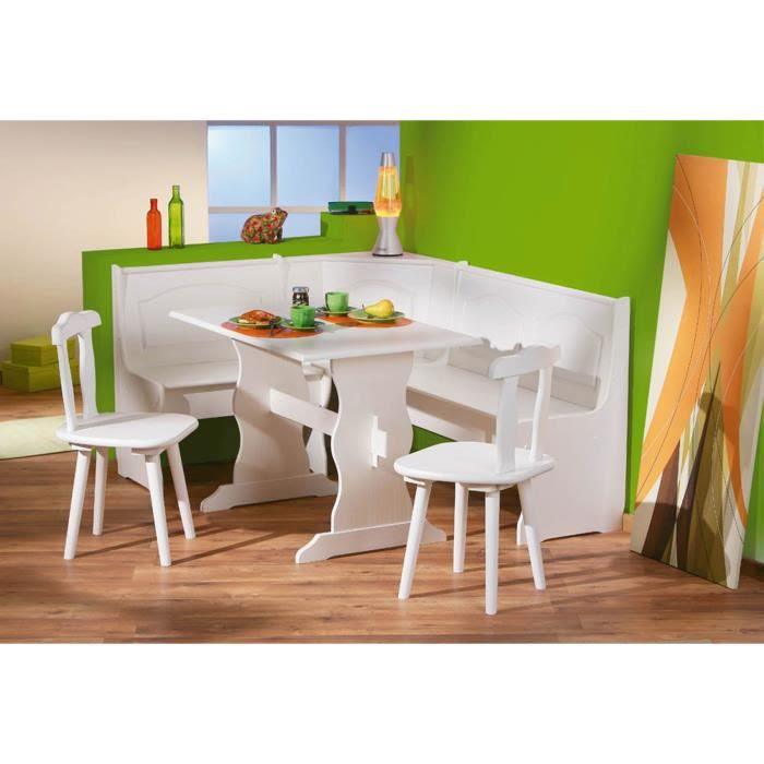 Table Et Chaises De Terrasse Table De Cuisine Avec Banc D Angle