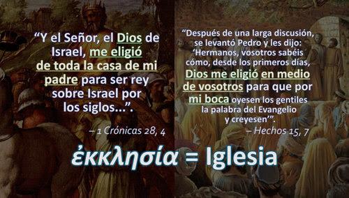 La palabra griega ekklesía significa iglesia o asamblea. Léxico griego-español