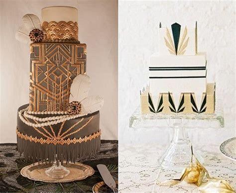 Art Deco Wedding Cakes ? Cake Geek Magazine
