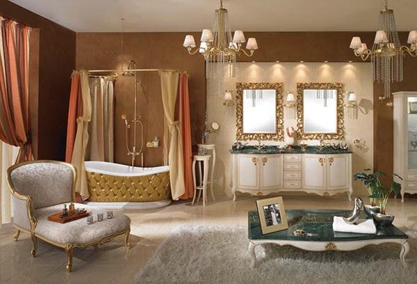 بلسمات عصرية حمامات بتصميمات كلاسيكية