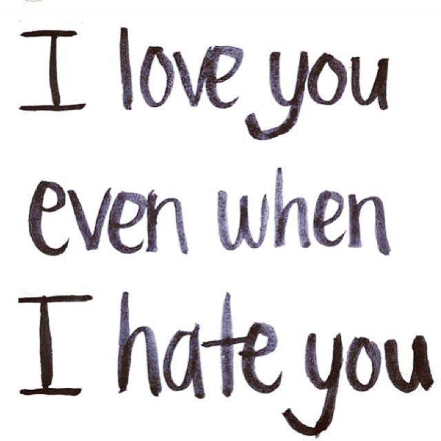 Best 50 I Hate You I Love You Quotes Alfinaldelcamino