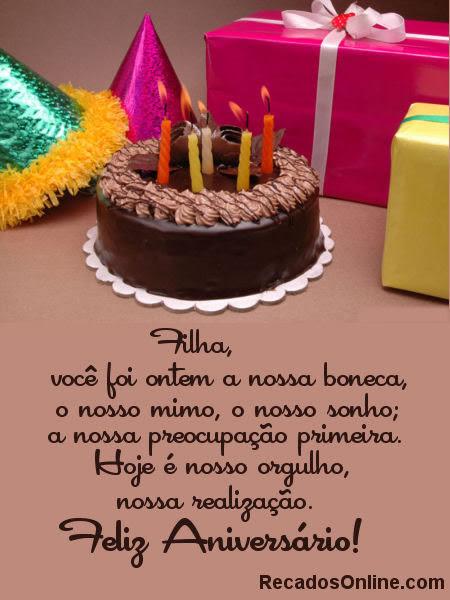 Mensagem Aniversário Para Um Filho Recados E Orkut Mensagens