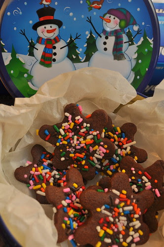 Chocolate-Snowflake-cookies