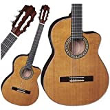 Espana Classical Solid Top Cut-a-Way Acoustic-Electric Guitar RoseWood