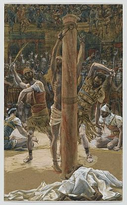 Brooklyn Museum - The Scourging on the Back (La flagellation de dos) - James Tissot