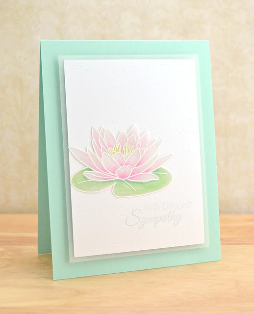 Water Lily Sympathy