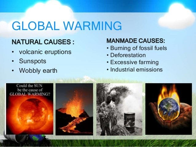 Cause and effect of global warming essay