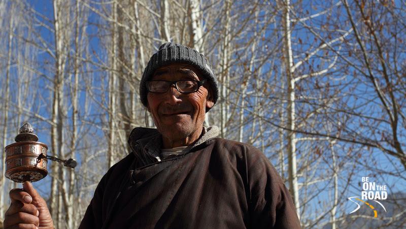 An elderly Buddhist gentleman from Ladakh, India