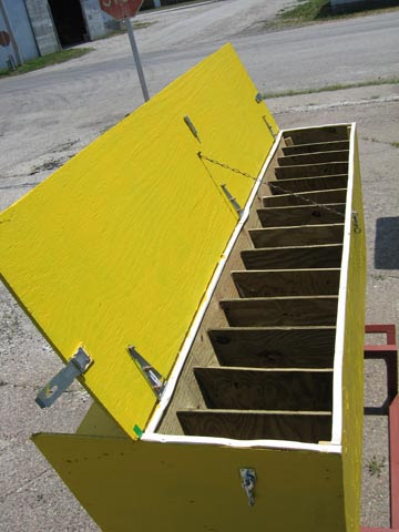Beef Cattle Mineral Feeders