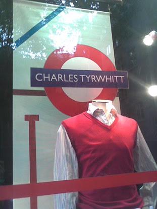 Charles Tyrwhitt shop window taken by Michael W