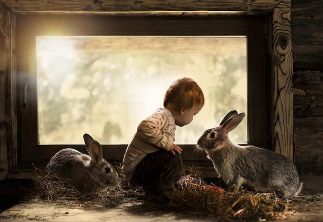 Το δεσιμο των παιδιων με τα ζωακια της οικογενειας
