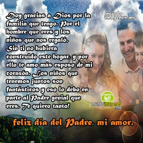 Imagenes Dia Del Padre Para Mi Esposo Frases De Amor Mundo