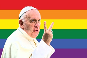 Pseudopapież Franciszek-Bergoglio popiera zboczeńców