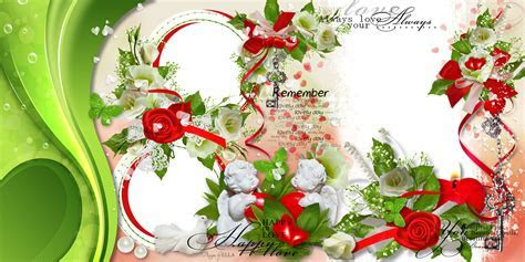 Rob911 : Wedding   Love Frame Photoshop png