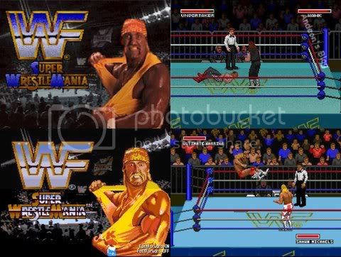 WWF Super Wrestlemania - Para Super Nintendo e Mega Drive