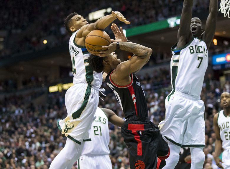 2017 04 22T193912Z 211315509 NOCID RTRMADP 3 NBA PLAYOFFS TORONTO RAPTORS AT MILWAUKEE BUCKS