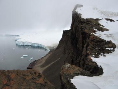 <p>El deshielo en la costa antártica. /Jasmine Lee</p>