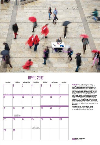 April - the lone scientist
