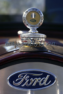 antique ford hood ornament