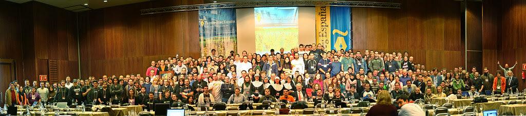 Foto de familia Evento Blog España 2007, por victoriano