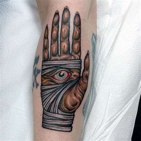 mummy tattoo designs men wrapped egyptian ink ideas