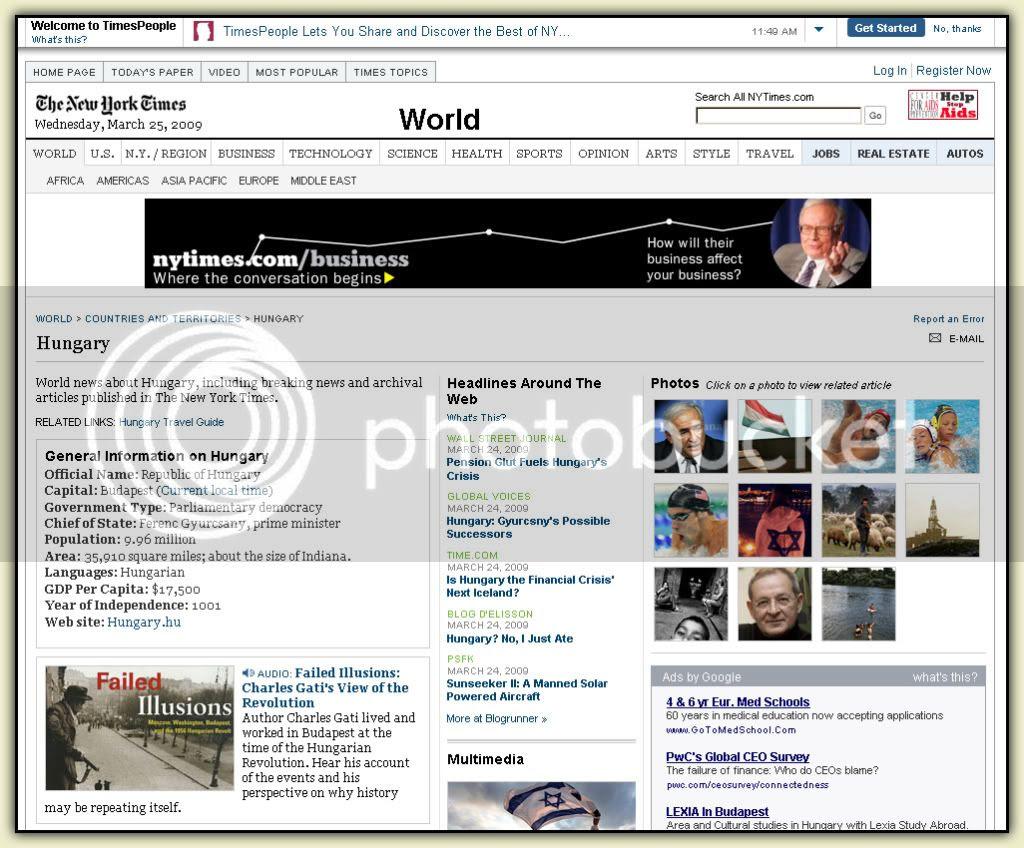 NYT Webpage