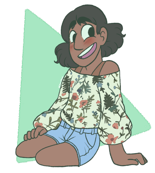 connversefangirl said: Connie Maheswaran 1c please Answer: remember like a year or so ago when i predicted connie's haircut?