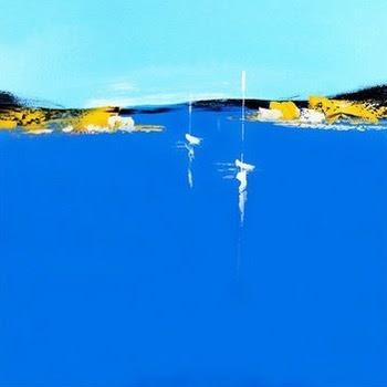 Tableau Peinture à Lhuile Mer Et Bateau 81 Tableau Tableaux