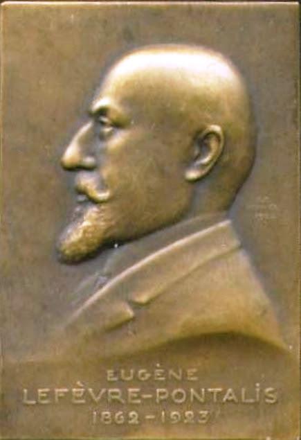 Busto de Eugène Lefèvre-Pontalis