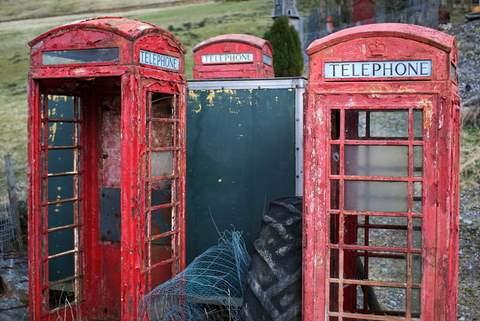 Símbolos em Extinção Telefone