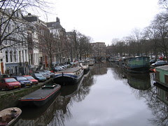 canal with reflections
