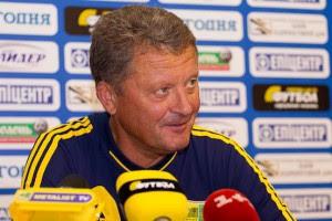 Маркевич: В Лиге Европы будет играть совершенно другая команда