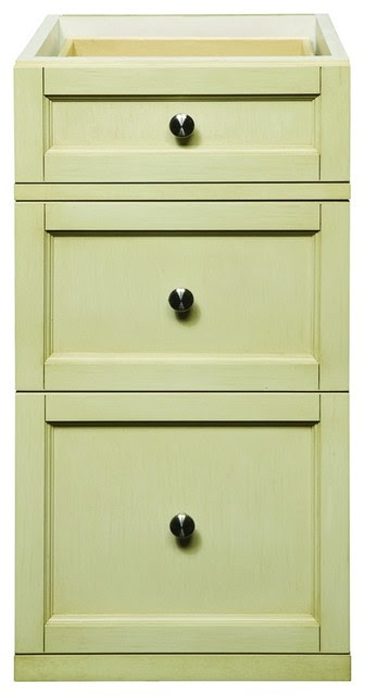 Decolav 5235-AWH Jordan Drawer Console in Antique White ...