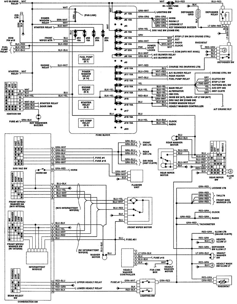 Isuzu Trooper Fuse Box Wiring Diagram Wiring Diagram View A View A Zaafran It