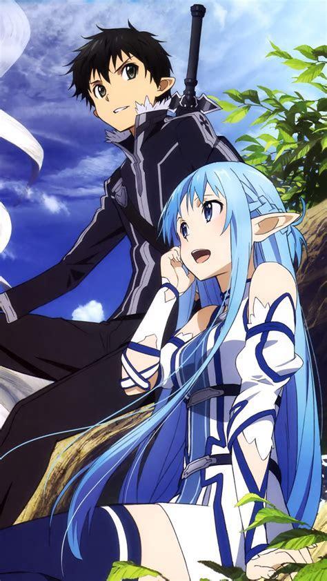 Sword Art Online 2 Kirito Asuna.Samsung Galaxy S4