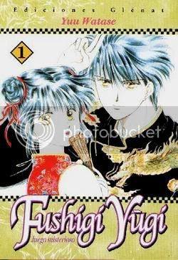 Resultat d'imatges de fushigi yugi manga