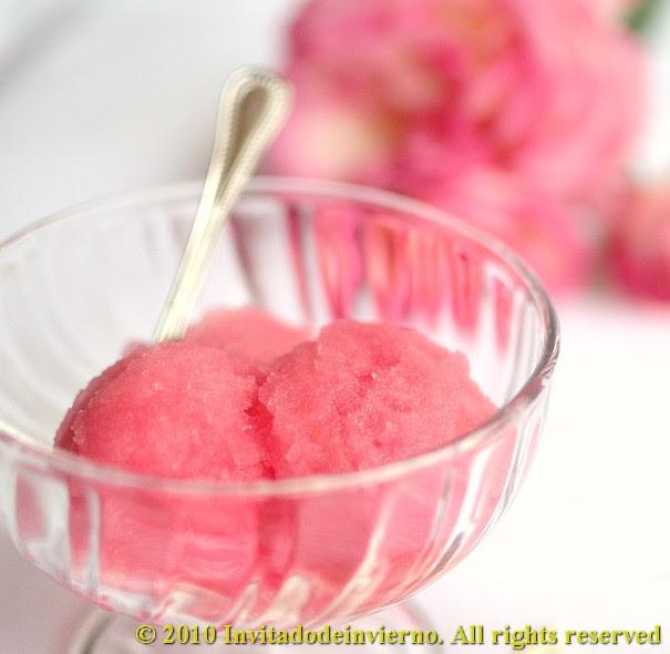 Sorbete rosas 2
