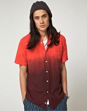 Image 1 ofBenson Garment Dyed Degraded Shirt