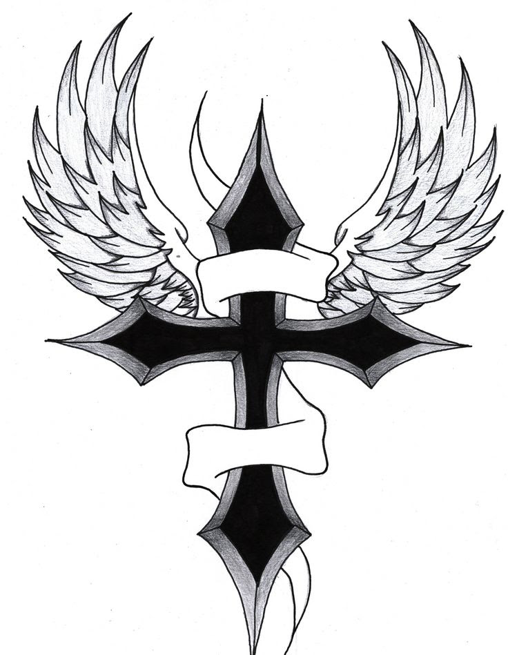 Crosses On Clipart Library Cross Tattoos Cross Tattoo Designs And
